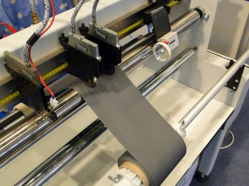 Längsschneidemaschine für Ballen- und Flächenware (Slitter)