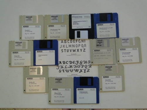 Fortron Stickmaschine Computer gesteuert