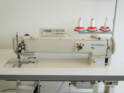 Global WF 1516-65 2-Nadel Langarmnähmaschine