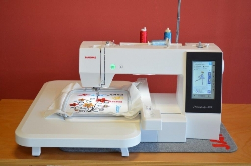 Janome MC 500 E Stickmaschine