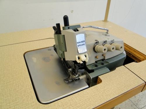 Overlockmaschine Mauser Spezial  504 - 1-Nadel 3-Faden