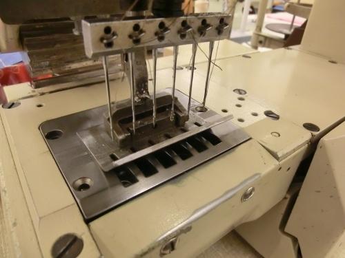Pfaff Klasse 5642 6 Nadel Freiarm-Inline- Doppelkettenstich-Nähmaschine , gebraucht