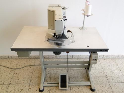 Brother 434  x120mm Kurznaht Riegelautomat