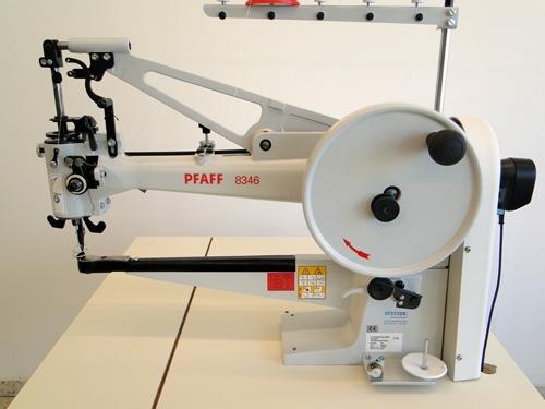 Pfaff 8346 mit Nadelpositionierung