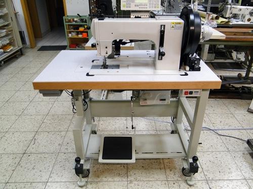 Global WF 9204 mit Puller Nähmaschine für extreme Stepparbeiten