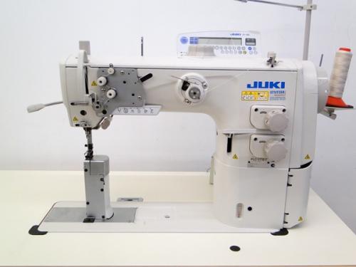 Juki PLC 2710-7 Dreifachtransport Säulennähmaschine