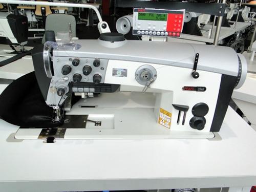 Pfaff 2546 - Zweinadel-Nähmaschine mit Bandzuführung