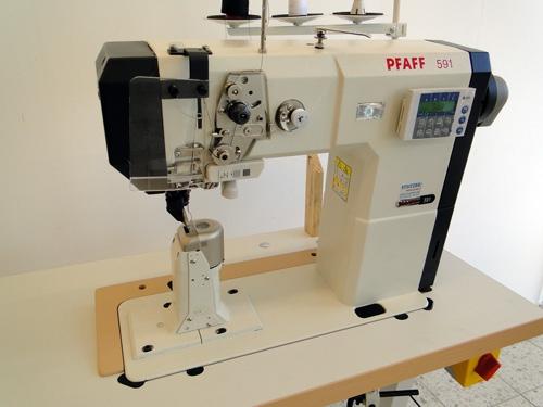 Pfaff 591 Säulennähmaschine Automatik mit FA