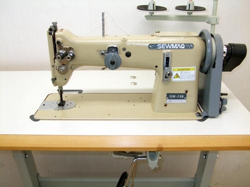 Sewmaq-138 Schneidereinähmaschine Gerad- und Zick-Zack
