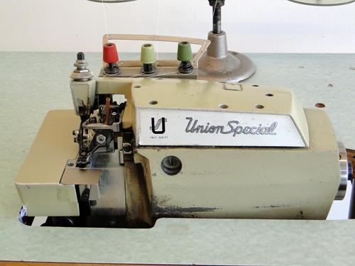 Union Spezial 39500 PPZ 1-Nadel 3-Faden Overlock-Maschine
