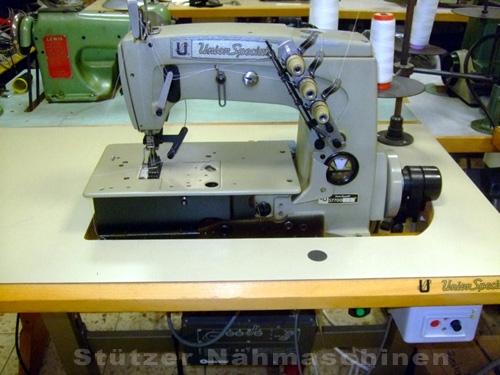 Union Spezial 57700 2-Nadel Flachbett Doppelkettenstich