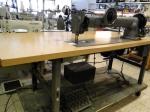Singer 144 Langarm Nähmaschine für schwere Stepparbeiten gebraucht